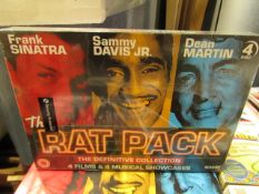 The Rat Pack - The Definitive Collection 4 Films & 4 Musical Showcases Set - Unused & Sealed.