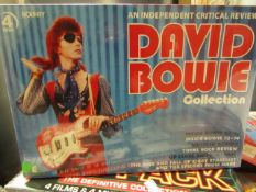 David Bowie - Music Collection 4 Disc Set - Unused & Sealed.