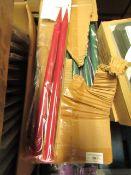 2x Boxes Containing 18 20mm Knitting Needles - Unused & Boxed.