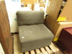 A Piece of a M-Star grey sectonal sofa