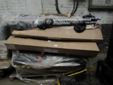 | 2x | PALLETS OF SWOON BED FRAME PARTS, ALL RAW CUSTOMER RETURNS | UNCHECKED RETURNS |