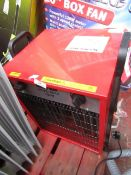 1x CL HEAT DEVIL6015 1x CL FAN- CBF20 230V, This lot is a Machine Mart product which is raw and