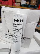 12x Acrylic Adhesive - Suitable for Stone/Plaster/Cement 310ml Tubes - Unused & Boxed.