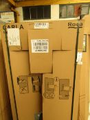 Roca Carla 1500 x 700 bath, new and packaged. Includes feet if necessary