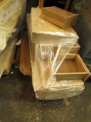 | 1X | PALLET OF RAW VERY.COM CUSTOMER FLAT PACK FURNITURE, STOCK UNMANIFESTED, WE HAVE NO IDEA WHAT