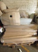 | 1x | PALLET OF SWOON BED FRAME PARTS, ALL RAW CUSTOMER RETURNS | UNCHECKED RETURNS |