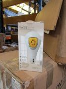 4x BeOn Home smart security light bubl with remote controls, look unused and boxed