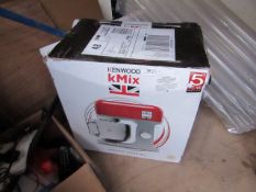 Kenwood K Mix stand mixer, the item power on and the motor makes a noise but it does not turn the