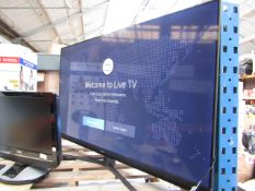 """HISENSE 55U8QFTUK 55"""" 4K Uktra HD QLED TV, Tested working as in it comes on and displays a"""