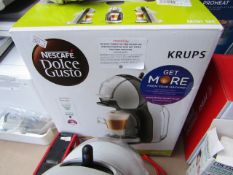 Krups Mini Me Dolce Gusto Coffe capsule machine, Powers on not put any water in it to check any