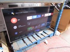 """Phillips 55PUS6561 55"""" 4K UHD Ambilight TV, with Remote control and stand, Tested working as in it"""
