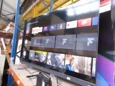 """TCL 65C815K 65"""" 4K UHD QLED TV, Tested working as in it comes on and displays a picture, we haven'"""