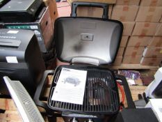 Nex Grill 2 Burner table top gas grill, it has been used but looks in good condition, RRP £120