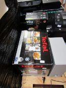 2x items being a Braun Multi quick 9 hand blender, no power and a Tefal Oreo clean deep fat fryer,