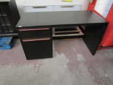 | 1X | MADE.COM ANDERSON BLACK DESK | UNUSED & NO PACKAGING | RRP - |