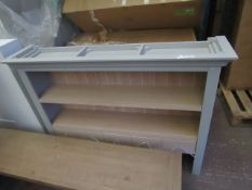 | 1X | CORNDELL LARGE OPEN HUTCH TOP UNIT | LOOKS UNUSED (NO GURANANTEE) | RRP CIRCA £545 |