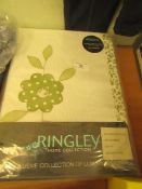 Ringley Pair of Lined Curtains with Tie Backs 168 X 137 CM New & Packaged