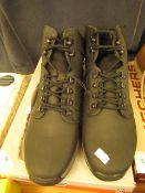 Costco KHOMBU black boots size 9 new and boxed