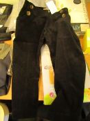 Blossom 3/4 Length Fine Cord Pants Black Size S New With Tags