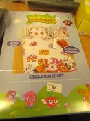 Moshi Monsters Single Duvet set new and packaged