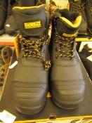 DeWALT Industrial Footwear Steel toe size 10 work boots new and boxed