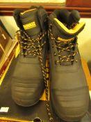 DeWALT Industrial Footwear Steel toe size 11 work boots new and boxed