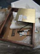 | 1x | SWOON CADREW WALL LAMP IN WALNUT | LOOKS UNUSED (NO GUARANTEE) | RRP CIRCA £114.99 |