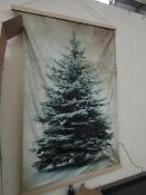 | 1x | COX & COX LIT TREE WALL HANGING SMALL | LOOKS IN GOOD CONDITION TESTED WORKING HOWEVER THIS