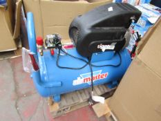 1x AM COMP TIG8/550 230 This lot is a Machine Mart product which is raw and completely unchecked