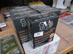 7x Glamour - Wallpaper Adhesive (7 x 200g) - All Unused & Boxed.
