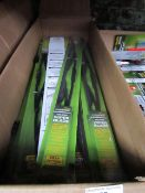5x Brookstone Deluxe 550mm wiper blades - New.