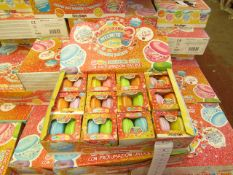 2 x Boxes of 12 Packs of 2 Macarons Slime - New & Boxed.