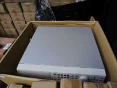 Stand Alone DVR with remote Unchecked & unboxed