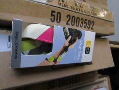 12X Box of 6 Case Logic Multi Coloured Wrist Strap new and boxed