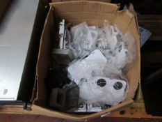 Box of approx 40 items being External Sounders all unchecked and boxed