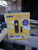 Now Tv smart stick with HD and Voice search, Unchecked in original box