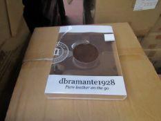 Box of 20 Ipad mini Leather slip cover new & boxed