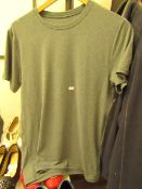 1 x 32 degree Mens Grey Cool T Shirt size S with tag