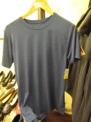 1 x 32 degree Mens Navy Cool T Shirt size S with tag