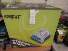 ClubFit - Stretch Board - Unchecked & Boxed - Looks to be New, However This merely own Opinion.