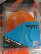 2x ClubFit - Orange Jelly Expender Loop - New & Packaged.