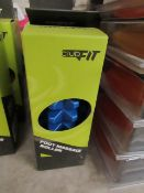2x ClubFit - Foot Massage Roller (Blue) - New & Boxed.