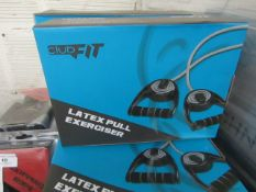 ClubFit - Latex Pull Exerciser - New & Boxed.