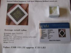 IGL&I Certified - Natural Sapphires - 1.20 carats - 100 pieces - Average retail value £311.85 IGL&