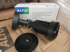 6 x Alto - Outdoor IP44 Wall mounted Spot Light Suitable for Highlighting  Garden, Patio, etc