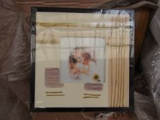 Box of Approx 24x Erno Rustic Craft Style - Thick Framed Picture Frames - New & Packaged