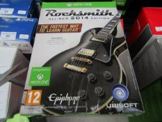 Rocksmith All-New 2014 Edition Includes Rocksmith Real Tone Cable no scratches on disk, untested &