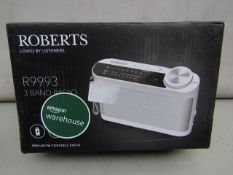 Roberts Loved By Listeners R9993 3 Band Radio Unchecked & Boxed