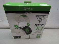 Turtle Beach white Ear Force Recon 70 compatable with xbox 1 Unchecked & Boxed