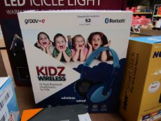 Groove Kids Wireless Dj Style Bluetooth Headphones Unchecked & Boxed